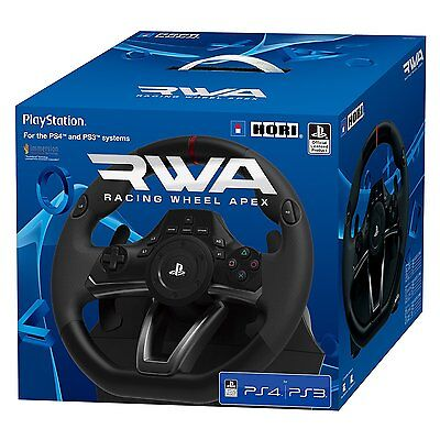 Volante Racing Wheel Apex Hori PS4 PS3 NUEVO