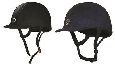 Gatehouse JEUNESSE GLITTER Junior Riding Helmet Hat Sparkle Black Navy  PAS015