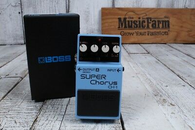 Boss CH-1 Stereo Super Chorus Electric Guitar and Keyboard Effects Pedal CH1