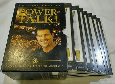 Anthony Robbins POWER TALK -Strategies For Lifelong Success - CD Boxed Set *NEW*