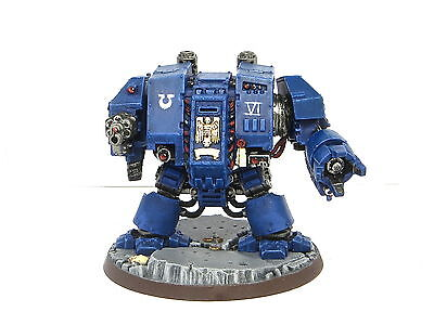 ULTRAMARINES DREADNOUGHT  -  Painted Warhammer 40K Space Marine Army