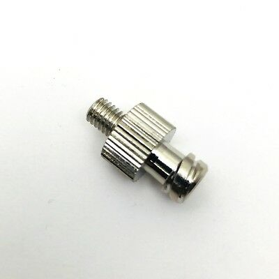 Metal Syringe Fitting Luer Lock Female to UNF 10-32 Male  U-Z39