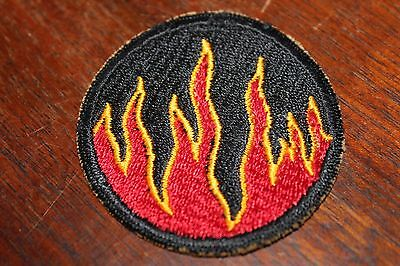 Original US Army WWII cut edge patch 119th Infantry Division Ghost Phantom
