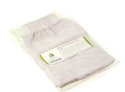 Traditional Moroccan hammam kessa glove / mitt - exfoliation – WHITE - NEW
