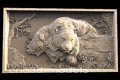 3D Model STL for CNC Router Engraver Carving Relief Artcam Aspire Tiger 162