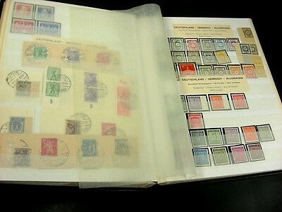 GERMANY, RUSSIAN ZONE, DDR, 100's of Stamps in a Lighthouse Stockbook(included)