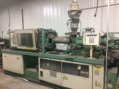 Nissei 80 Ton Plastic Injection Molding Machine, FS80S12ASE, 230/460 Volts