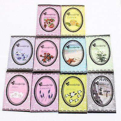 UPICK Home Office Box Smell Scented Wardrobe Drawer Car Perfume Sachet Bag A1802