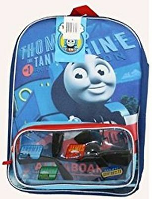 "Thomas & Friends 16"" School Backpack Clear Front Storage"
