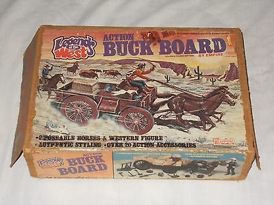 Vintage 1979 Empire Legends Of The West Action Buck Board Lot