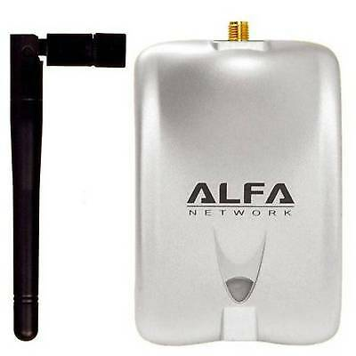 Alfa Network 1000mW High Power Wireless G Wi-Fi USB Adapter with 5dBi Antenna