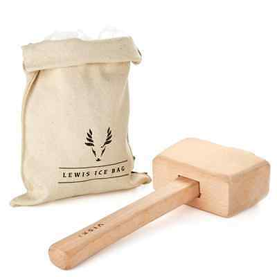 Viski Professional Lewis Ice Bag and Mallet - Free 2 Day Shipping