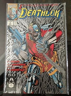 Deathlok #1 1st Series 1991. Marvel Comics.
