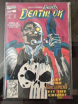 Deathlok #7 1st Series 1991. Marvel Comics.