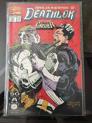 Deathlok #6 1st Series 1991. Marvel Comics. Punisher
