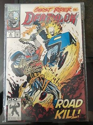 Deathlok #9 1st Series 1991. Marvel Comics.