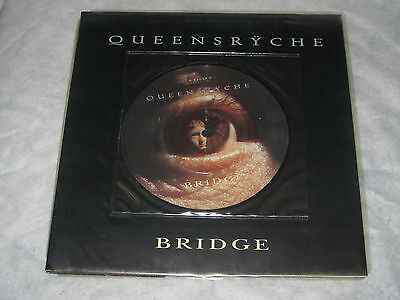 "Queensryche - Bridge (EMI Records Picture Vinyl 7"" + Giant Poster - 1995)"