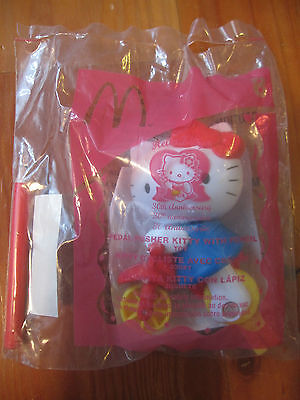 c629938d9 McDonalds Happy Meal HELLO KITTY 30th Anniversary PEDAL PUSHER #8 2004  Sanrio