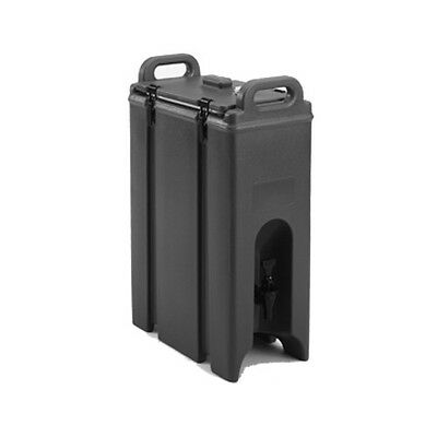 Cambro 250LCD110 2-1/2 Gallon Camtainer Beverage Carrier (Black)