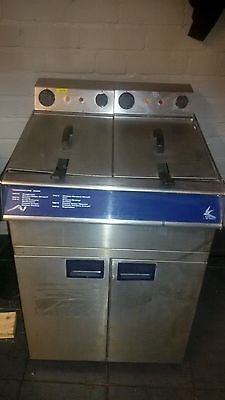 Falcon Electric Twin Tank Commercial Fryer Catering Equipment