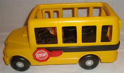 Fisher Price Little People 1995 Yellow School Bus