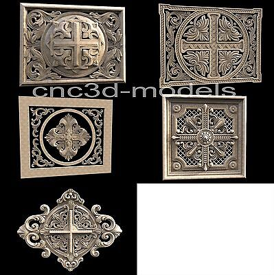 3D Model STL for CNC Router Engraver Carving Relief Artcam Aspire Religion 077