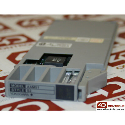Yokogawa  AAM51 Style S2 Current Voltage Output Module - Used