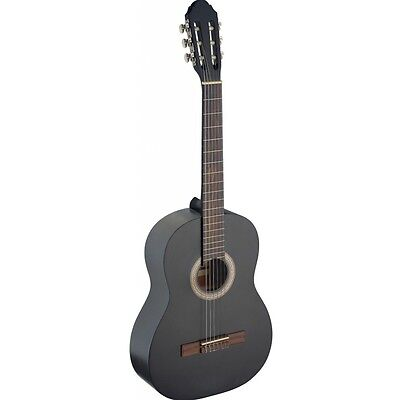 Stagg C440 Full Size Classical Guitar - Black