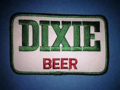 Rare 1990's Dixie Beer Collecatble Iron On Jacket Trucker Farmer Hat Patch Crest