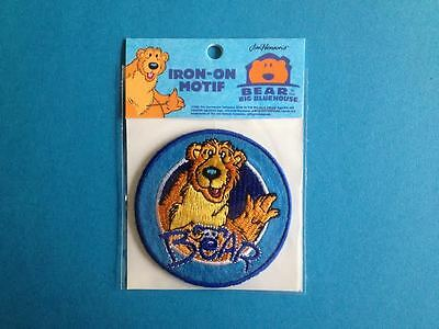 Bear The Big Blue House Iron On Hat Jacket Hoodie Backpack Shirt Patch Crest A