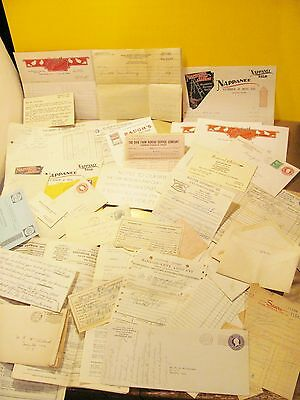 Mixed Lot Very Old OIL Lease Prospect Contract Drill 55 Acres + Agriculture Ads