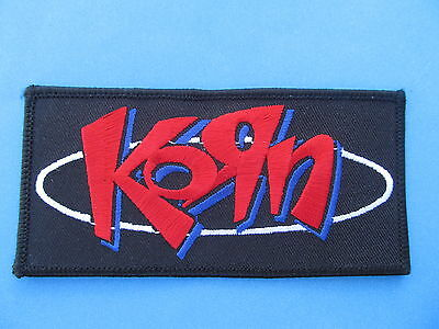 Korn Hard Rock Music Iron On Hat Jacket Backpack Hoodie Metal Patch Crest D