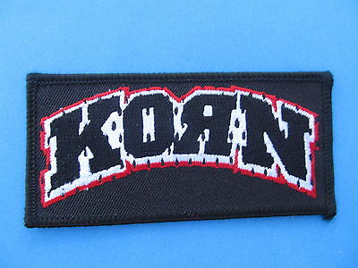 Korn Hard Rock Music Iron On Hat Jacket Backpack Hoodie Metal Patch Crest C