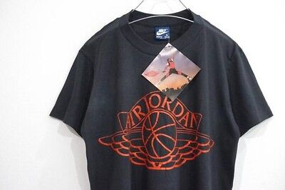 Air Jordan Nike Wing Vintage 80s New T Shirt with Tags Made In USA Rare Jumpman