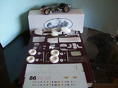 1/25 SCALE 1962 INDY 500 # 86 PORTER  resin & metal kit