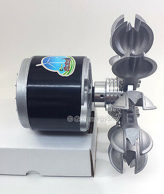 WindZilla PMA Pelton Water Wheel 17mm Adapter Micro Hydro Generator Turbine B