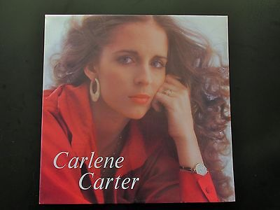 CARLENE CARTER Self Titled ORIGINAL 1978 UK VINYL LP + INNER AMERICAN COUNTRY