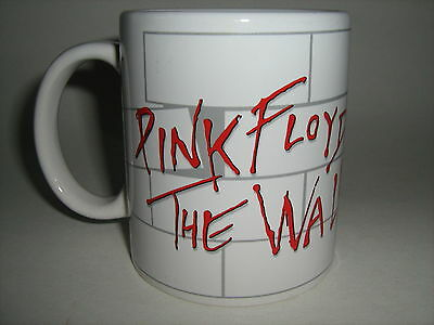 "Pink Floyd ""the Wall"" Ceramic 10 Oz Coffee Mug Cup David Gilmour - Roger Waters"