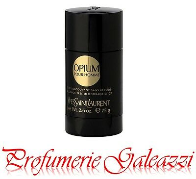 YSL OPIUM POUR HOMME ALCOHOL FREE DEO (DEODORANTE) STICK - 75 ml