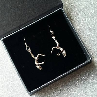 925 silver pole dancer stripper earrings Valentines gift x shorts shoes boots