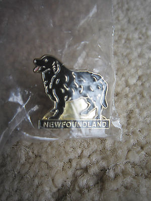 Newfoundland Lab Dog Lapel Pin New In Package /  Buy More No Extra Shipping