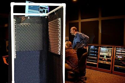 Vocal Booth Noise Reflection & Echo Eliminator - Stand-In