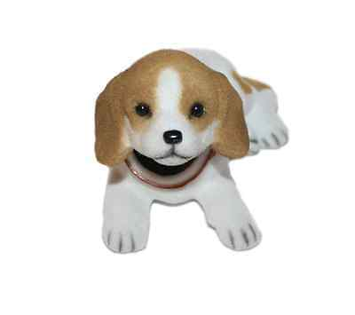 Bobble Head Beagle Dog Bobbing Nodding Head