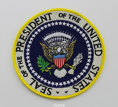 Seals Of The President Of The United States Patch Iron On--4.8''