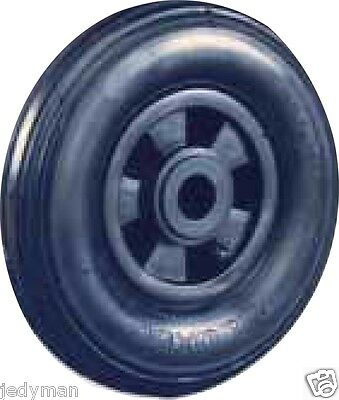 Wheels Pneumatic Wheel pneumatic for Trolleys Plate Plastic d.200 mm. P.75 Kg.