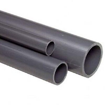 VDL PVC 7.5 Bar rated Water Pipe 25mm Outside Diameter, 1.25mm Wall 5M Lengths