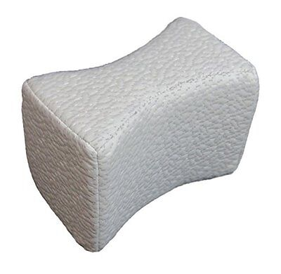 Comfort Rest Memory Foam Orthopedic Support Pillow for Knees Replacement Cover O