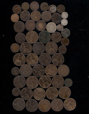 VICTORIA COINS BRITISH INDIA CANADA NOVA SCOTIA NEW BRUNSWICK X EMPIRE 1800's