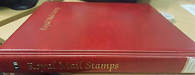 Royal Mail Red Stamp Album/Binder - 2nd Hand