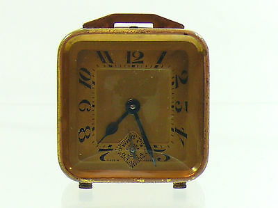 Antique Duverdrey & Bloquel Bayard Alarm Clock Art Deco